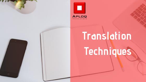 Translation techniques