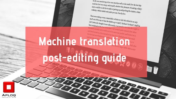 Machine translation post-editing