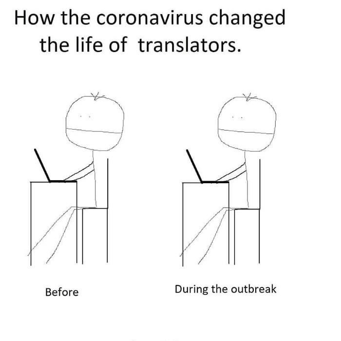 translation work during covid