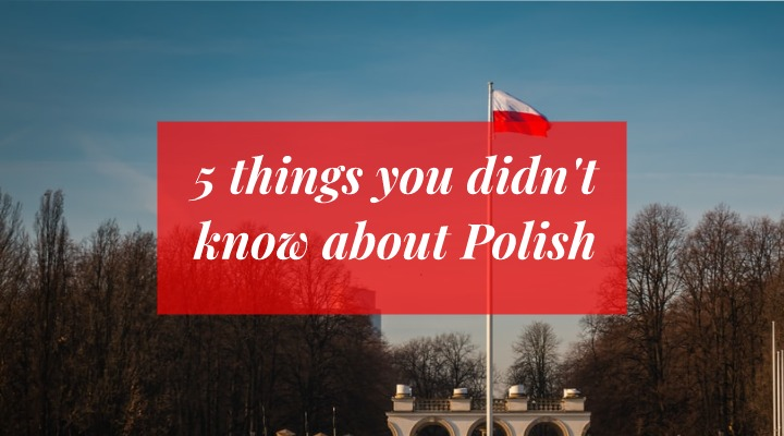 5 things you didn't know about Polish