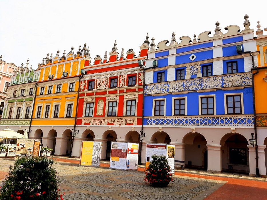 Visit Poland old town Zamosc